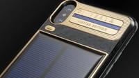iPhone X Tesla Menggunakan Tenaga Surya