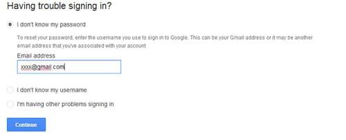 Cara Reset Password Dan Pemulihan Akun Gmail