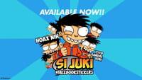 Karakter Si Juki Menjadi Stiker Facebook